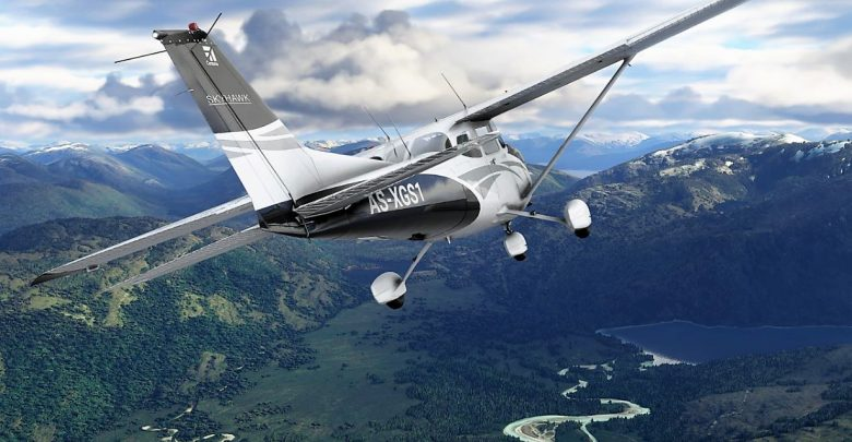 How to change the camera view in Microsoft Flight Simulator