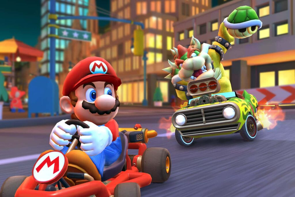 Mario Kart Tour is finally receiving a much-awaited feature by fans, almost a year after its initial launch: it is the one that allows you to play with the phone horizontally, a key feature missing when the mobile version of the Mario Kart was published last year.