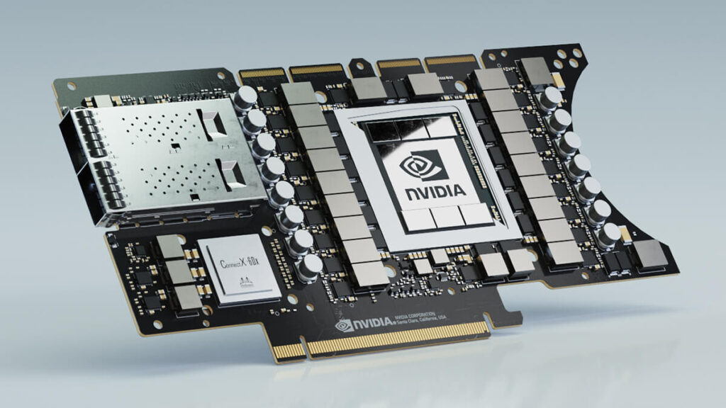 There is not much time left until Nvidia finally reveals the next generation of GPU. In the meantime, most of the information leaked on the internet has helped us get a little idea about it; but nothing concrete about performance, the raw power that hides behind the green curtain. The company is working hard on its new GPU Ampere A100, which is intended to be the fastest creation of the company so far. The graphics card is manufactured on 7nm incorporating 54 billion transistors, 6912 CUDA cores, and 40GB of super-fast memory; of the HBM2E type with a bandwidth that can reach 1555 GB/s.
