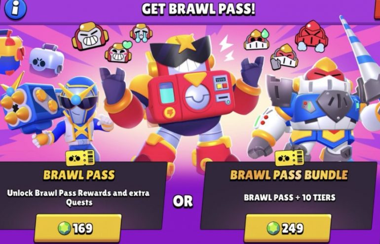 In order for you to get the free Brawl Pass, you will need to collect the amount of gems indicated to obtain it. The only way you can get it for free is for you to group these gems through the free reward path that the game provides.