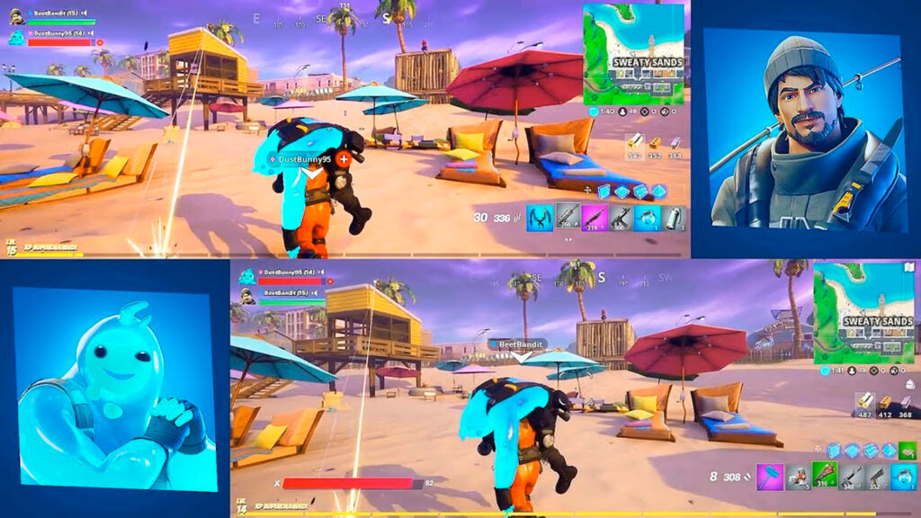 Fortnite, the trendy battle royale on both PS4 and Xbox One, can be played split-screen. Thanks to our tutorial we'll show you how to enable this option to play with your friends on the same console. It's a highly demanded option by regular gamers of epic games, so this guide tries to make things easy for you by explaining all the steps so you can play Fortnite with your friends from the sofa at home. This means that you and a friend will be able to play on the same console with the screen split in two. However, this local option is only available on PS4 and Xbox One. Let's see below how to play split screen in Fortnite.